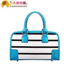 Net a style. Circleof bag 2013 fashion color block stripe cross bucket handbag cross-body women's handbag x1286