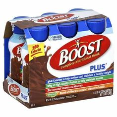 Any One Multipack Or Canister Of Boost Nutritional Drink Or Drink Mix $1.50 Off With Printable Coupon!