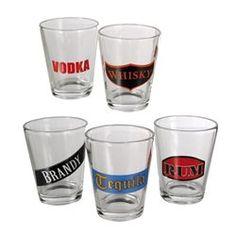 Set de mini verres Boissons Spiritueuses OUTWELL