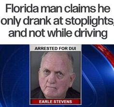 See, rate and share the best florida man memes, gifs and funny pics. Memedroid: your daily dose of fun! Funny Car Memes, Stupid Funny Memes, Funny Fails, Funny Stuff, Funny Drunk, Funny Things, 9gag Funny, Random Stuff, Entertainment