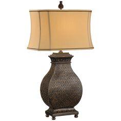 Wildwood Morrocan Bronze Lamp
