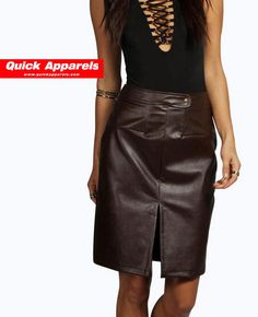 http://www.quickapparels.com/split-front-faux-leather-skirt.html