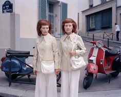 """Mady & Monette, Rue des Partants, Paris, 2010 by Maja Daniels  Hey, Hot Shot! First Edition 2012 Contender Maja Daniels  Contender Maja Daniels often approaches her photography from a journalistic and sociological stand point; in several of her series, particularly Into Oblivion and today's featured Monette and Mady, the photographer focuses on """"the lack of visual representations of issues related to older generations."""" A sharp contrast to the Alzheimer's-focused Oblivi"""