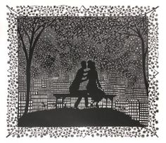 paper cut by Rob Ryan