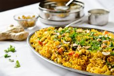 Indian Spiced Briyani with Tofu - The Fig Tree Tofu Recipes, Indian Food Recipes, Vegetarian Recipes, Cooking Recipes, Healthy Recipes, Ethnic Recipes, Healthy Lunches, Paleo Food, Savoury Recipes
