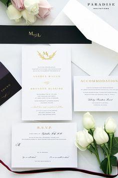 elegant wedding invitation kits. mia golden elegant wedding invitation sets kits