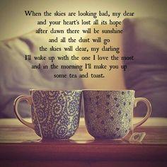 Tea & Toast by Lucy Spraggan Beautiful song <3