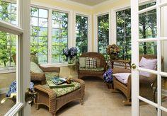 Sun room with great windows