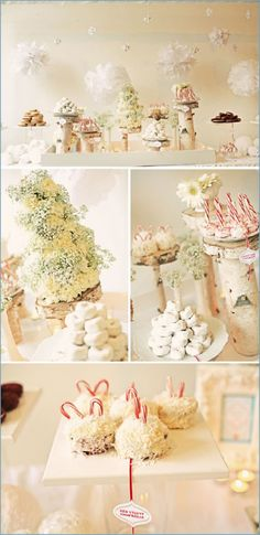 winter wonderland dessert party