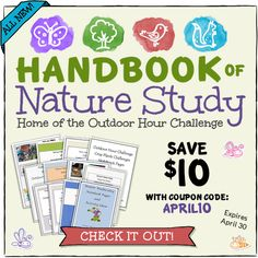 Handbook of Nature Study Ultimate Naturalist Library. Check out the newly designed website with everything all organized and pretty.