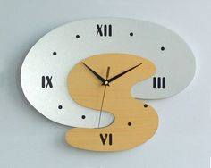 contemporary cool wall clock design