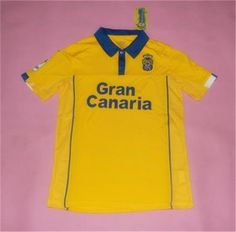 UD Las Palmas Home 16-17 Season Yellow Soccer jersey UD Las Palmas Home 16- 17 Season Yellow Soccer jersey 1515ae29f