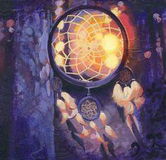 Sunset Dream Catchers by Heather Teran