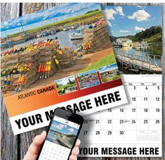 2021 Atlantic Canada Wall Calendars with your Business Name & Logo - low as Advertise in the homes and offices of people in your area all year! Calendar App, Print Calendar, Promotional Calendars, Canada Wall, Date Squares, Wall Calendars, Us Holidays, Atlantic Canada, Free Advertising