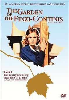 """""""The Garden of the Finzi-Continis"""" A superb film by director Vittorio De Sica. In the late the Finzi-Continis' wealth is no real protection from the Fascist Mussolini government trying to curry favor with Nazi Germany's Hitler. Foreign Movies, Movie Covers, Cinema Posters, Great Films, Movie List, Adult Children, Film Movie, New York Times, Movies Online"""