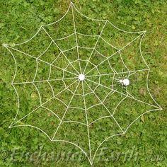 Large Metal Spiders Web