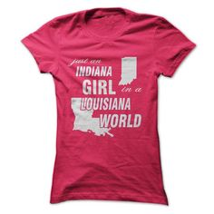 Indiana Girl in Louisiana #hoodie #clothing