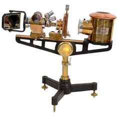 Vintage Precision Micro-Projector by Flatters & Garnett | From a unique collection of antique and modern scientific instruments at http://www.1stdibs.com/furniture/more-furniture-collectibles/scientific-instruments/