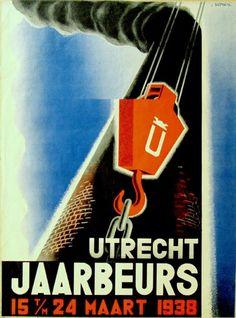 Utrecht jaarbeurs 15-24 maart 1938 - by Wim Bosma - at Stedelijk Museum Amsterdam
