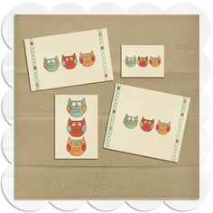 Inspired By Peanut & Bean: Sleepy Owl Freebies