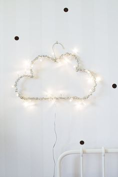 We're card carrying members of the string light appreciation society and Therese's fun and inventive DIY is a great way to add another whimsical light source to your home