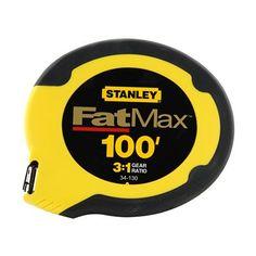 Stanley FatMax® 100-ft Tape Measure