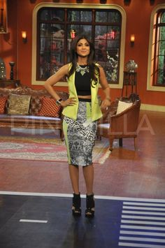 Shilpa Shetty promotes Dishkiyaoon on Comedy Nights with Kapil   PINKVILLA