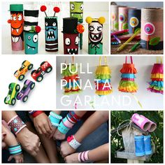Lots of super cute & fun TP Roll projects to make with the kids/grandkids!!  Love  :o)