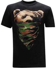 3b56d735 39 Best Bear Design T-Shirts For Men images   Bear design, Fashion ...
