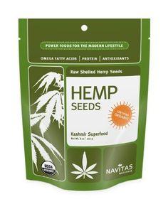 Navitas Naturals Hemp Seeds Shelled, 8-Ounce: Amazon.com: Grocery & Gourmet Food