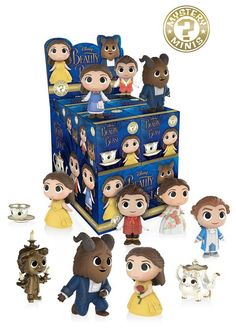 Beauty and the Beast live action movie is highly anticipated by all princess fans get your collectible mystery mini to add to your collection! Funko Mystery Mini: Beauty and the Beast Live Action Movie - Funko Mystery Minis, Kawaii Panda, Vinyl Figures, Action Figures, Figurine Disney, Mini Blinds, Disney Beauty And The Beast, Beauty Beast, Pop Vinyl