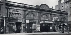 Earls Court station 1915