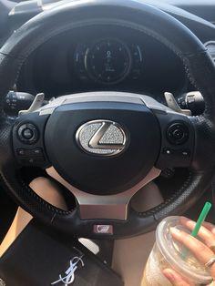 #car #aesthetic #lexus #cardecor #diamond #sparkle #luxury #ysl #yslbag #starbucks Lexus Lx570, 2010 Lexus, Lexus Cars, Audi, Mom Mobile, Girls Driving, Cute Car Accessories, Jeep Rubicon, Car Goals