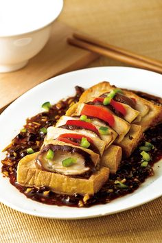 Tofu Recipes, Vegetarian Recipes, Healthy Recipes, Vegetarian Dish, Ratatouille, Food And Drink, Beef, Dishes, Cooking
