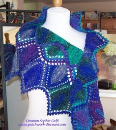 Crochet - Sophie Gelfi - Créations textiles Crochet Laine et tricot