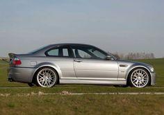 BMW E46 M3 silver