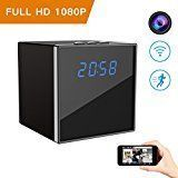 #9: Hidden Spy Camera Corprit Wireless Clock Nanny Cam HD 1080P Home Security Camera Mini Cam with WiFi Remote View Motion Detection Alarm Loop Recording#cameras #photoaccessories #amazon #movers #shakers