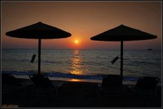 Sunset at Anaxos