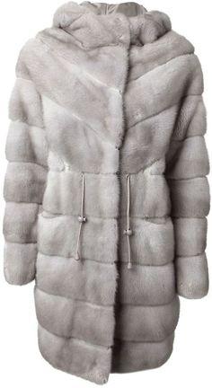 $6,827, Liska Sizza Coat. Sold by farfetch.com. Click for more info: https://lookastic.com/women/shop_items/134652/redirect