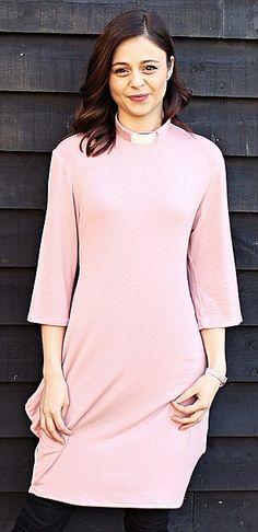 Fashion forward: A pink shift dress from Collared...