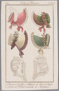 1817 Bonnets, France.