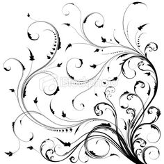 swirly designs | Don't mind me, just designing imaginary tattoos…