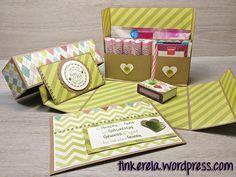 Genießer-Box mit Anleitung, Geburtstagsgeschenk, Stationary Box