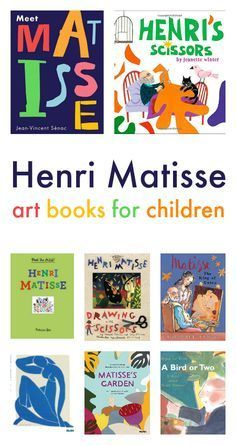 henri matisse art books for children famous artists art projects for children - Drawing Books For Children