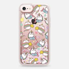 Casetify iPhone 7 Liquid Glitter Case - Caticorns