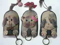 Doggy and Kitty keys Cover
