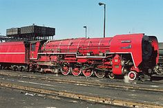 Rooi Duiwel (Camera man Hannes) Tags: red train steam devil locomotive 484 rooi class26 duiwel
