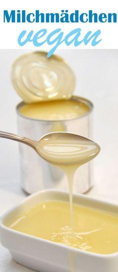 Um manche Rezepte zu veganisieren, braucht man eine vegane Alternative zu gezuckerter Kondensmilch à la Milchmädchen.