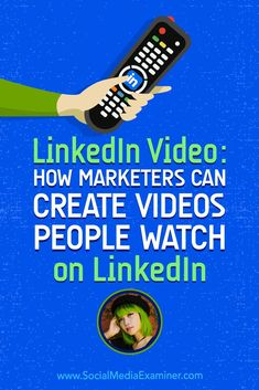 LinkedIn Video: How Marketers Can Create Videos People Watch on LinkedIn (November Facebook Marketing, Social Media Marketing, Content Marketing, Digital Marketing, Marketing News, Marketing Strategies, Marketing Tools, Business Video