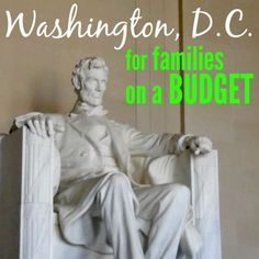 Washington, D.C. is a fabulous place for a family vacation, even if you're  on a budget. We spent a few days there this summer and I have some great  tips to share with you that will have you saving lots of money on your  family travel.